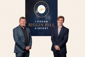 Andy Green, Jota CEO & Robert Walter, London Biggin Hill Airport, Commercial Director-lr