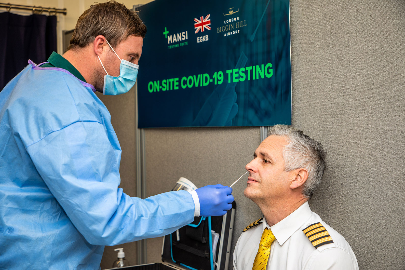 Same day PCR Covid-19 test results on offer at London Biggin Hill Airport -  London Biggin Hill Airport